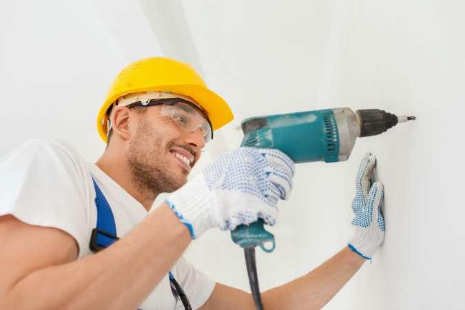 colocar taco pared y techo